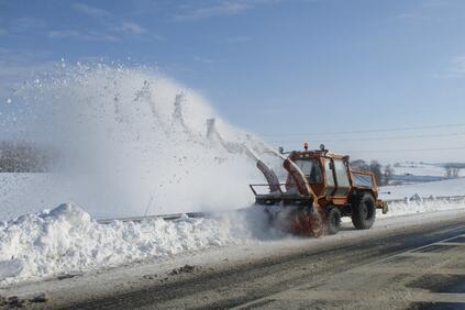 Всички републикански пътища са проходими при зимни условия Над 1100