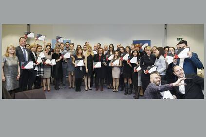 Като най-добър работодател на годината бе отличена Пощенска банка 13