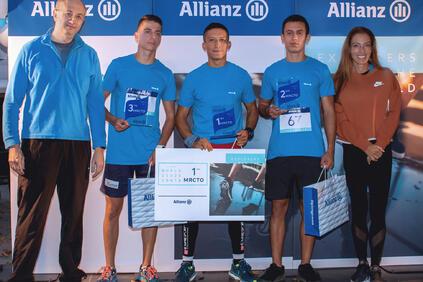 Събраните средства от маратона, който е част от глобалната инициатива