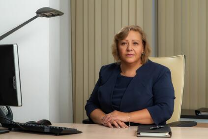 Русева работи в банковия сектор повече от 35 години работи