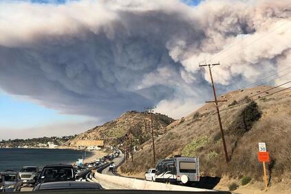 Според Impact Forecasting, горските пожари вече се превръщат в заплаха,