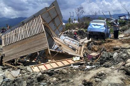 Снимка: Застрахованите загуби от цунамито в Индонезия ще надминат 1 млрд