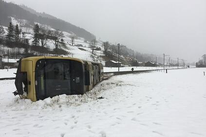 Снимка: 756 млн евро е струвала на застрахователите бурята Елинор