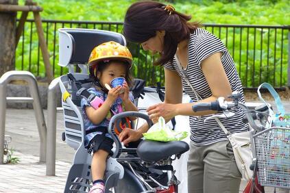 Снимка: Япония обмисля задължително застраховане на велосипедистите